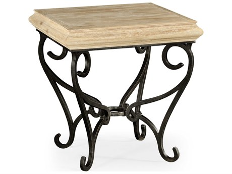 Jonathan Charles Artisan collection Limed Acacia End Table JC495178LMA