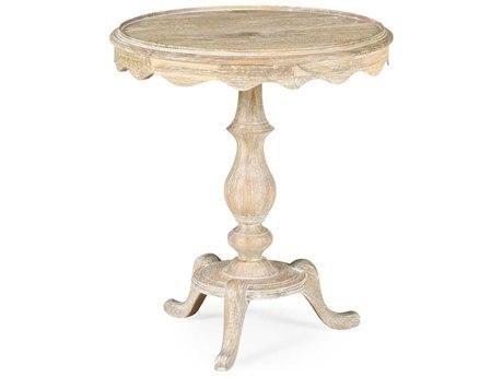 Jonathan Charles Artisan collection Limed Acacia Pedestal Table