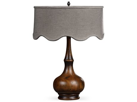Jonathan Charles Artisan collection Rustic Walnut Finish Table Lamp JC495354RWL