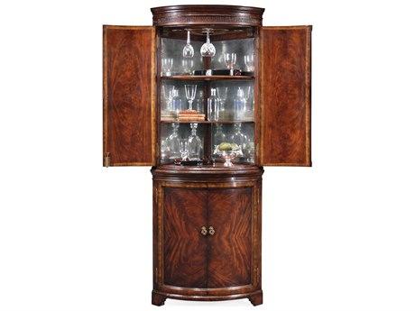 Jonathan Charles Buckingham Medium Antique Mahogany Bar Cabinet JC493182MAH