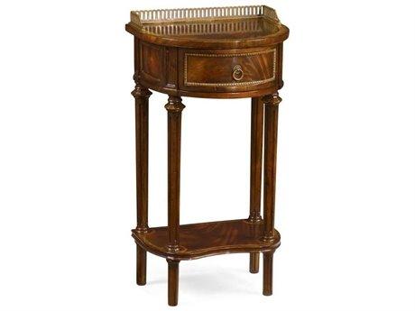 Jonathan Charles Buckingham Medium Antique Mahogany 16 x 13 Rectangular End Table