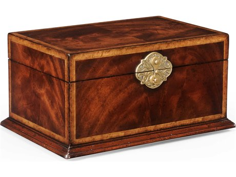 Jonathan Charles Buckingham Medium Antique Mahogany Jewelry Box JC493846MAH