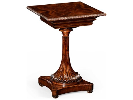 Jonathan Charles Santos Wooden Pedestal Table