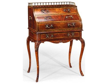 Jonathan Charles Buckingham Medium Antique Mahogany Secretary Desk