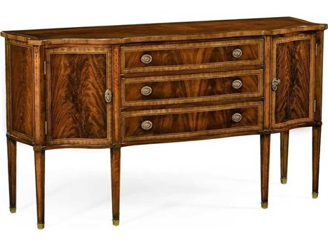 Jonathan Charles Buckingham Medium Antique Mahogany 67.5 x 22.5 Buffet JC492637MAH