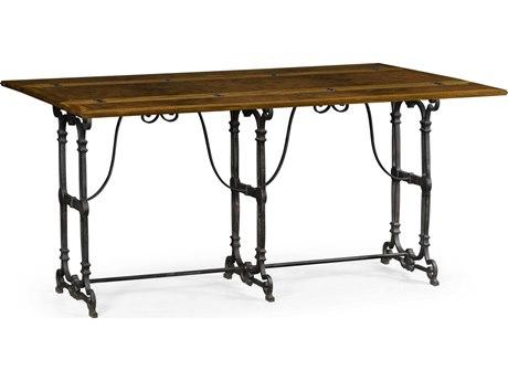 Jonathan Charles Cambridge 63'' Wide Rectangular Dining Table