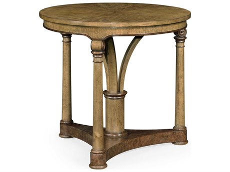 Jonathan Charles Cambridge 28'' Wide Round End Table
