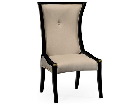 Jonathan Charles Cosmo Painted Formal Black Dining Chair