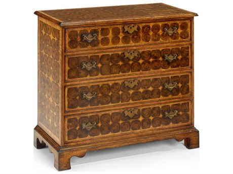 Jonathan Charles Country Farmhouse Medium Walnut Chest