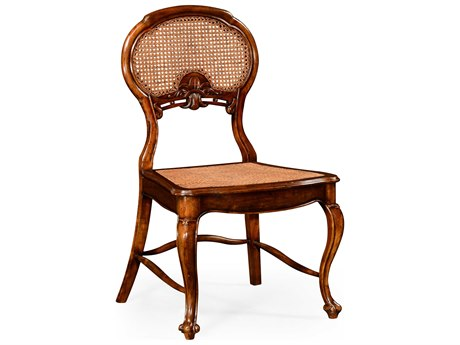 Jonathan Charles Country Farmhouse Medium Walnut Dining Chair
