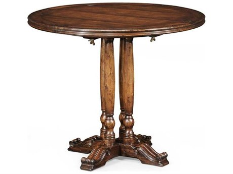 Jonathan Charles Country Farmhouse collection Walnut Medium Casual Dining Table