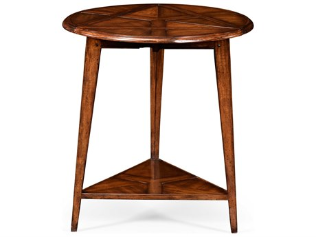 Jonathan Charles Country Farmhouse Medium Walnut 27 Square End Table