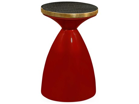 Jonathan Charles Curated collection Emperor Red End Table JC495523EMRGLB