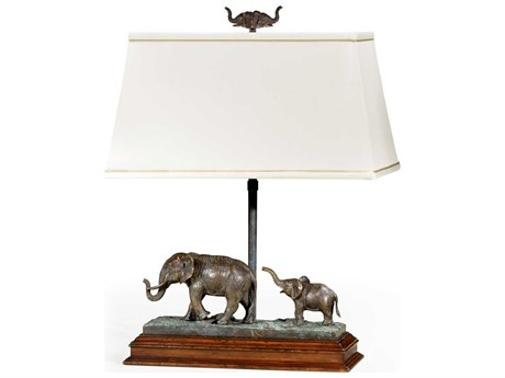Jonathan Charles Curated Table Lamp JC495762RGTDBR