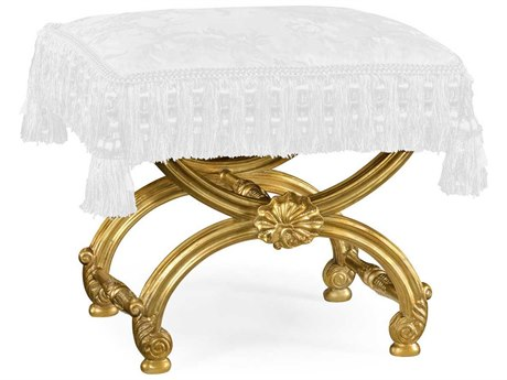 Jonathan Charles Duchess collection Antique Gold-Leaf Stool JC493052AGLF001