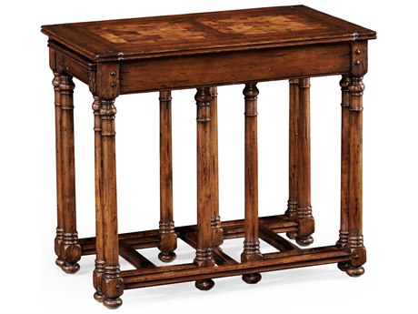 Jonathan Charles Huntingdon Country Oyster 30 x 18.5 Rectangular End Table
