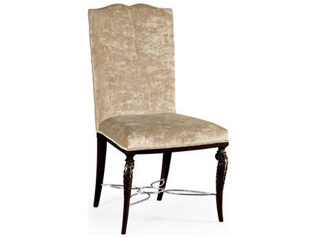 Jonathan Charles Icarus collection Zebrano Medium Accent Side Chair JC495345SCZEBF005