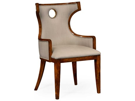 Jonathan Charles Knightsbridge Antique Mahogany Brown High Lustre Accent Chair JC495046ACBMAF001