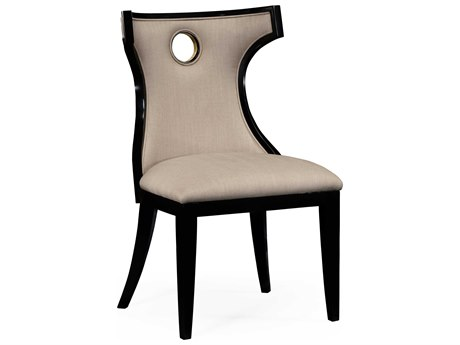 Jonathan Charles Knightsbridge Painted Formal Black Accent Chair JC495046SCBLAF001