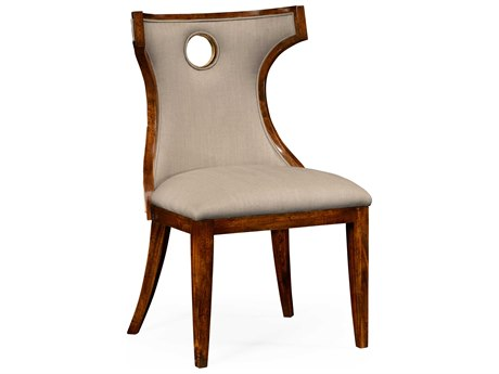 Jonathan Charles Knightsbridge Antique Mahogany Brown High Lustre Accent Chair JC495046SCBMAF001