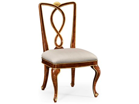 Jonathan Charles Knightsbridge collection Antique Mahogany Brown - High Lustre On Wood Dining Side Chair