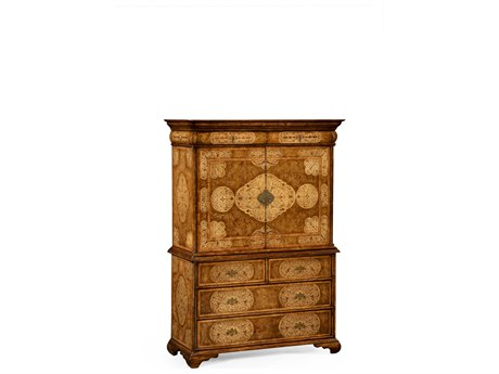 Jonathan Charles La Rochelle Light Walnut Console Cabinet JC492252WLL