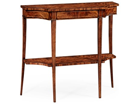 Jonathan Charles Luxe Light Antique Mahogany 37 x 14 Rectangular Console Table