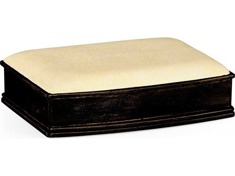 Jonathan Charles Luxe Shagreen Cream Decorate Accent