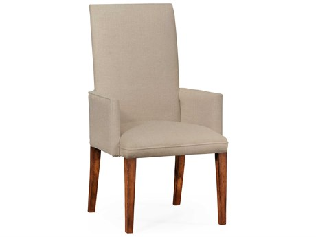 Jonathan Charles Luxe Medium Walnut Dining Chair