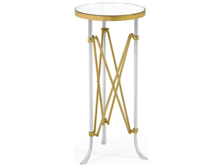 Jonathan Charles Luxe 12'' Wide Round End Table