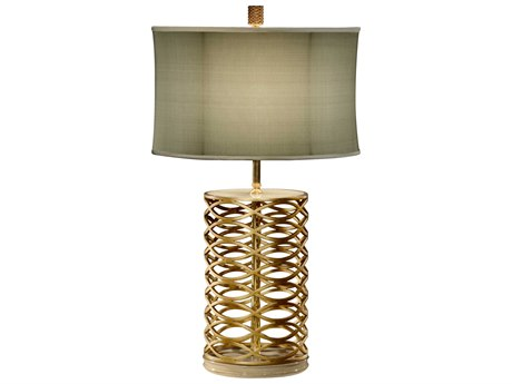Jonathan Charles Luxe Gilded Iron Table Lamp JC494966G