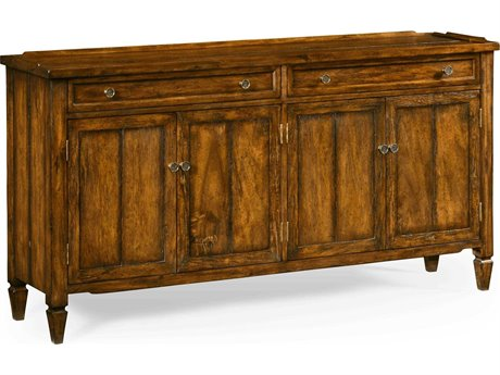 Jonathan Charles JC Edited - Casually Country Walnut Country Farmhouse Sideboard JC491025CFW