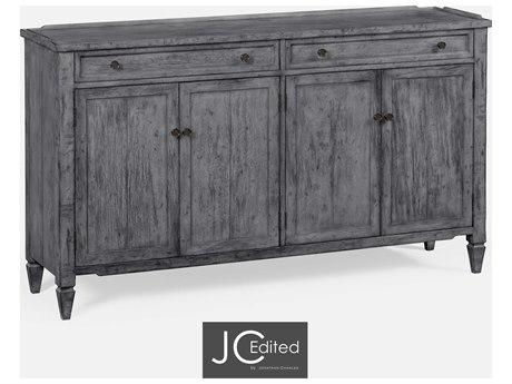 Jonathan Charles JC Edited - Casually Country Antique Dark Grey Sideboard JC491042ADG