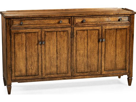 Jonathan Charles JC Edited - Casually Country Walnut Country Farmhouse Sideboard JC491042CFW