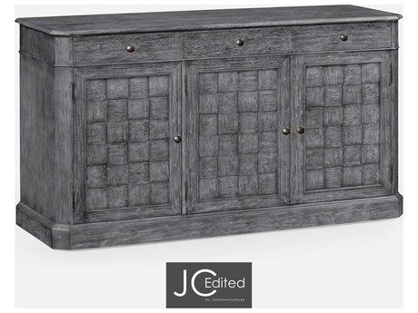 Jonathan Charles JC Edited - Casually Country Antique Dark Grey Sideboard JC491001ADG