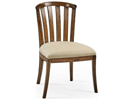 Jonathan Charles JC Edited - Casually Country Walnut Country Farmhouse Accent Arm Chair