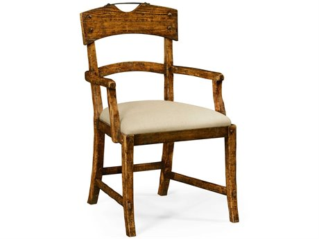 Jonathan Charles JC Edited - Casually Country Walnut Country Farmhouse Accent Arm Chair JC491076ACCFWF001