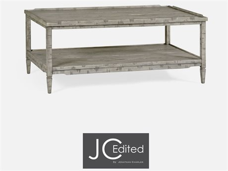 cb47820297065 Jonathan Charles JC Edited - Casually Country Rustic Grey Country Farmhouse Coffee  Table JC491021RGA