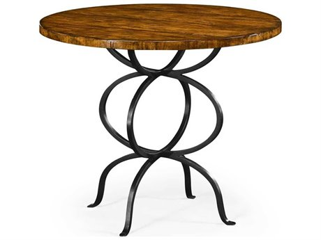 Jonathan Charles JC Edited - Casually Country Walnut Country Farmhouse Dining Table