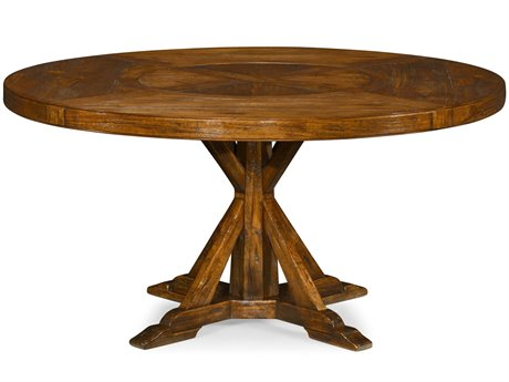Jonathan Charles JC Edited - Casually Country Walnut Country Farmhouse Casual Dining Table JC49110160DCFW