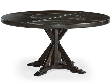 Jonathan Charles Casually Country 60'' Wide Round Dining Table