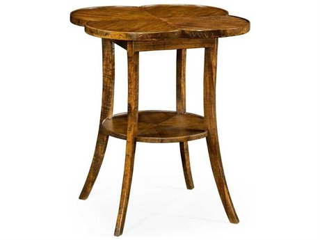 Jonathan Charles JC Edited - Casually Country Walnut Country Farmhouse End Table
