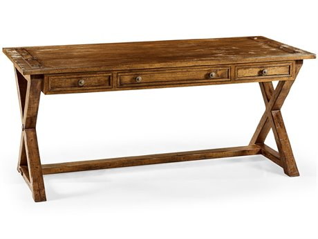Jonathan Charles JC Edited - Casually Country Walnut Country Farmhouse Accent Desk