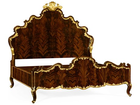Jonathan Charles Monte Carlo collection Antique Mahogany Brown High Lustre Panel JC495505USKBMA