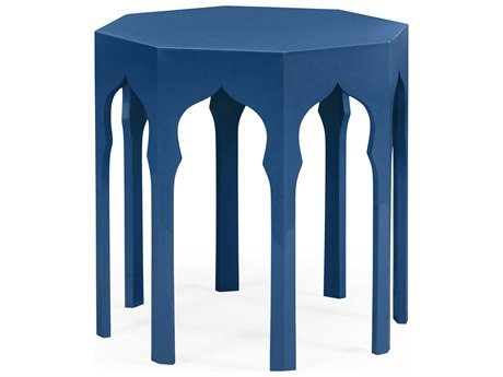 Jonathan Charles Moroccan collection Patriot Blue End Table JC495372PTB