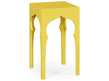 Jonathan Charles Moroccan collection Yellow Rain Coat End Table JC495373YRC