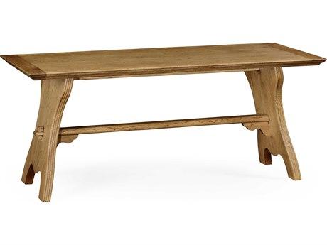Jonathan Charles Natural Oak Natural Light Oak On Veneer 70.75 x 30 Rectangular Dining Table