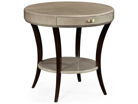 Jonathan Charles Opera collection Grey Sycamore Finish End Table
