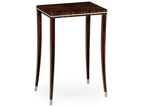 Jonathan Charles Soho Makassar Ebony 16 x 11 Rectangular End Table