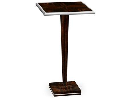 Jonathan Charles Soho Makassar Ebony 14 Square Pedestal Table